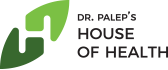 House of Health: Ayurveda with Modern Scientific Research. Logo