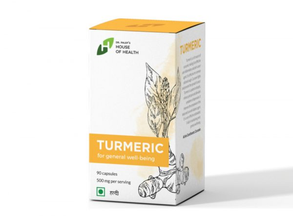 TURMERIC - for general well being